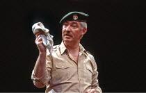 OTHELLO  by Shakespeare  design: Shelagh Keegan  director: David Thacker <br>~David Calder (Iago) ~The Young Vic, London SE1  10/05/1984~(c) Donald Cooper/Photostage   photos@photostage.co.uk   ref/CT...