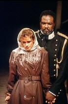 'OTHELLO' (Shakespeare - director: Trevor Nunn)~Imogen Stubbs (Desdemona), Willard White (Othello)~Royal Shakespeare Company / The Other Place   Stratford-upon-Avon  1989