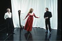'OTHELLO' (Shakespeare - director: Bill Alexander),IV/i - l-r: Hilton McRae (Iago), Jeffery Kissoon (Othello) , Andrea Mason (Bianca), Max Gold (Cassio),Birmingham Repertory Theatre   09/03/1993 ~(c)...