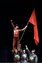 'CORIOLANUS' (Shakespeare - director: Peter Hall)~Ian McKellen (Caius Martius / Caius Martius Coriolanus)~Olivier Theatre / National Theatre. London               15/12/1984