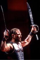 'CORIOLANUS' (Shakespeare - director: Tim Supple)~Kenneth Branagh (Coriolanus)~Chichester Festival Theatre / England                  1992