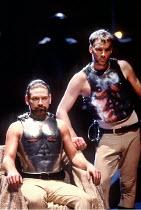 'CORIOLANUS' (Shakespeare - director: Tim Supple) Kenneth Branagh (Coriolanus), Iain Glen (Tullus Aufidius) Chichester Festival Theatre / England                  1992