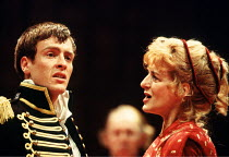'CORIOLANUS' (Shakespeare)~Toby Stephens (Coriolanus), Caroline Blakiston (Volumnia)~Royal Shakespeare Company/Swan Theatre, Stratford-upon-Avon  24th May 1994