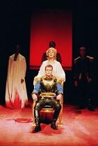 'CORIOLANUS' (Shakespeare)~Toby Stephens (Coriolanus), Caroline Blakiston (Volumnia)~Royal Shakespeare Company/Barbican Theatre, London EC2   10th August 1995
