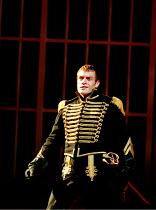 'CORIOLANUS' (Shakespeare)~Toby Stephens (Coriolanus)~Royal Shakespeare Company/Barbican Theatre, London EC2   10th August 1995