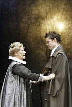 'ALL'S WELL THAT ENDS WELL' (Shakespeare - director: Gregory Doran)~Judi Dench (The Countess of Rossillion), Jamie Glover (Bertram)~Swan Theatre / Royal Shakespeare Company   Stratford-upon-Avon, Engl...