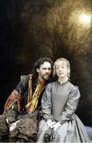'ALL'S WELL THAT ENDS WELL' (Shakespeare - director: Gregory Doran)~Guy Henry (Parolles), Claudie Blakley (Helena)~Swan Theatre / Royal Shakespeare Company   Stratford-upon-Avon, England...