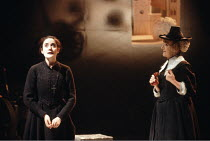 ALL'S WELL THAT ENDS WELL  by Shakespeare  design: John Gunter  lighting: Rick Fisher  director: Peter Hall <br>~III/vii - l-r: Sophie Thompson (Helena), Andree Evans (Old Widow),~Royal Shakespeare Co...