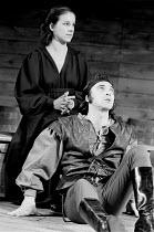 HENRY IV part i  by Shakespeare  design: Douglas Heap  lighting: Brian Wigney  fights: Malcolm Ranson  director: Bill Alexander <br>~Juliet Stevenson (Lady Percy / Kate), Stuart Wilson (Harry Hotspur)...