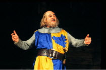 HENRY IV part i  by Shakespeare  design: Douglas Heap  lighting: Brian Wigney  fights: Malcolm Ranson  director: Bill Alexander <br>~Alfred Marks (Falstaff)~Royal Shakespeare Company (RSC) Regional To...