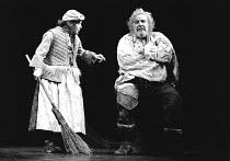 'HENRY IV part ii'~Maureen Pryor (Mistress Quickly), Brewster Mason (Falstaff)~RSC / Aldwych  1976