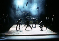HENRY V  by Shakespeare  set design: Neil Warmington  costumes: Kandis Cook  lighting: Charles Edwards  fights: Terry King  director: Matthew Warchus <br>   ~the battle of Agincourt~Royal Shakespeare...
