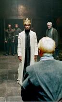 'HENRY VI iii' (Shakespeare)~David Oyelowo (King Henry VI)~RSC/Swan Theatre, Stratford-upon-Avon   13/12/2000