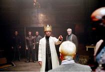 'HENRY VI part iii' (Shakespeare)~(centre) David Oyelowo (King Henry VI)~RSC/Swan Theatre, Stratford-upon-Avon  13/12/2000