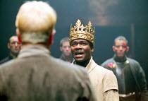 'HENRY VI part iii' (Shakespeare)~David Oyelowo (King Henry VI)~RSC/Swan Theatre, Stratford-upon-Avon  13/12/2000