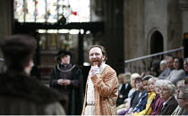 HENRY VIII  by Shakespeare  design: Ellen Cairns  lighting: Judith Greenwood  director: Gregory Thompson <br>  Antony Byrne (King Henry VIII) AandBC in association with the RSC  part of the Complete...
