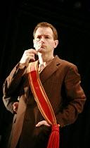THE CAUCASIAN CHALK CIRLCE   by Bertolt Brecht   director: Sean Holmes <br>,John Lloyd Fillingham (The Governor),Cottesloe Theatre / National Theatre, London SE1     09/03/2007,