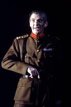 RICHARD III  by Shakespeare  design: Bob Crowley  lighting: Jean Kalman  choreography: Jane Gibson  director: Richard Eyre ~Ian McKellen (Richard)~LLyttelton Theatre, National Theatre, London SE1  25/...
