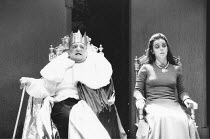 RICHARD III   by Shakespeare - director: Sam Mendes,Simon Russell Beale (Richard), Annabelle Apsion (Lady Anne),Royal Shakespeare Company / The Other Place, Stratford-upon-Avon               11/08/199...