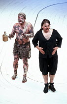'THE TEMPEST' (Shakespeare - director: Nicholas Hytner),l-r: John Kane (Caliban), Campbell Morrison (Stephano) ,Royal Shakespeare Company / Royal Shakespeare Theatre     Stratford-upon-Avon        07/...