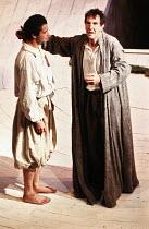 THE TEMPEST   by Shakespeare   director: Nicholas Hytner,l-r: James Purefoy (Ferdinand), John Wood (Prospero),Royal Shakespeare Company / Royal Shakespeare Theatre     Stratford-upon-Avon        07/19...