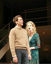 THE LADY FROM DUBUQUE   by Edward Albee   director: Anthony Page <br>,Robert Sella (Sam), Vivienne Benesch (Lucinda),Theatre Royal Haymarket, London SW1                     20/03/2007,