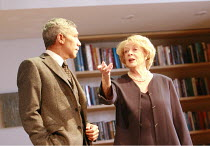 THE LADY FROM DUBUQUE   by Edward Albee   director: Anthony Page <br>,Peter Francis James (Oscar), Maggie Smith (Elizabeth),Theatre Royal Haymarket, London SW1                     20/03/2007,