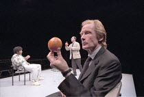 BLUE/ORANGE   by Joe Penhall - director: Roger Michell <br>,l-r: Chiwetel Ejiofor (Christopher), Andrew Lincoln (Bruce), Bill Nighy (Robert),Cottesloe Theatre / National Theatre, London SE1        13/...