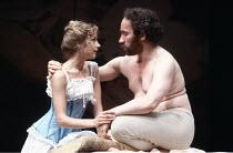 TOTAL ECLIPSE   by Christopher Hampton   director: David Hare <br>,Lynsey Baxter (Mathilde), Simon Callow (Verlaine),Lyric Hammersmith, London W6                    04/1981,