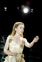 CYMBELINE  by Shakespeare  design: Rae Smith  lighting: Chris Davey  movement: Liz Ranken  director: Dominic Cooke <br>~Emma Fielding (Imogen)~Royal Shakespeare Company (RSC), Swan Theatre, Stratford-...