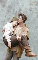 'CYMBELINE' (Shakespeare - director: Rachel Kavanaugh),IV/ii : Emma Pallant (Imogen, disguised as Fidele). Dominic Marsh (Arviragus),Open Air Theatre / Regent's Park, London                    10/06/2...