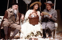 'LOVE'S LABOUR'S LOST' (Shakespeare - director: Barry Kyle),l-r: Frank Middlemass (Holofernes), Frances Barber (Jaquenetta), John Rogan (Sir Nathaniel),Royal Shakespeare Company / Royal Shakespeare Th...