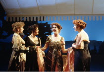 'LOVE'S LABOUR'S LOST' (Shakespeare - director: Ian Judge),l-r: Alexandra Gilbreath (Maria), Abigail McKern (Rosaline), Jenny Quayle (Princess of France), Virginia Grainger (Katharine),Royal Shakespea...