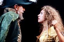 'LOVE'S LABOUR'S LOST' (Shakespeare)~John Wood (Don Adriano De Armado), Alex Kingston (Jaquenetta)~Royal Shakespeare Company / RST   Stratford-upon-Avon            09/1990
