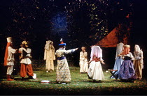 'LOVE'S LABOUR'S LOST' (Shakespeare) Lords and Ladies disguised RSC / Royal Shakespeare Theatre, Stratford-upon-Avon                      1990
