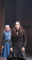 KING JOHN   by Shakespeare   director: Josie Rourke,III/iv - Nicholas Day (King Philip of France), Tamsin Greig (Constance),part of RSC ^The Complete Works^ Festival - April 2006-March 2007,Swan Theat...