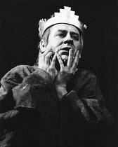 KING JOHN  by Shakespeare  design: John Napier, Martyn Bainbridge & Ann Curtis  original lighting design: David Hersey  director: John Barton with Barry Kyle <br> Emrys James (King John)  Royal Shak...