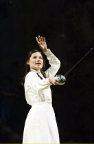 'LOVE'S LABOUR'S LOST' (Shakespeare - director: Trevon Nunn)~Kate Fleetwood (Rosaline)~Olivier Theatre / National Theatre, London SE1              21/02/2003