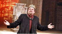 KING JOHN   by Shakespeare   director: Josie Rourke,V/i: Richard McCabe (King John),part of RSC ^The Complete Works^ Festival - April 2006-March 2007,Swan Theatre, Stratford-upon-Avon, England   03/08...