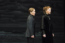 'TWELFTH NIGHT' (Shakespeare),III/i - l-r: Zoe Waites (Viola), Matilda Ziegler (Olivia),Royal Shakespeare Company/RST  Stratford-upon-Avon  10/05/2001,
