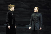 'TWELFTH NIGHT' (Shakespeare),III/i - l-r: Matilda Ziegler (Olivia), Zoe Waites (Viola),Royal Shakespeare Company/RST  Stratford-upon-Avon  10/05/2001,