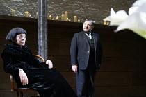 'TWELFTH NIGHT' (Shakespeare -  director: Sam Mendes)~Helen McCrory (Olivia), Simon Russell Beale (Malvolio)~Donmar Warehouse, London WC2           22/10/2002