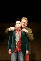 TWELFTH NIGHT   by Shakespeare - director: Michael Boyd ~Sally Tatum (Viola), Clive Wood (Sir Toby Belch) ~Royal Shakespeare Company (RSC), Novello Theatre, London WC2  13/12/2005             ~(c) Don...