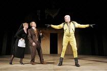 'TWELFTH NIGHT' (Shakespeare - director: Michael Boyd) ~l-r: Meg Fraser (Maria), Nicky Henson (Sir Toby Belch), Richard Cordery (Malvolio) ~Royal Shakespeare Company (RSC), Royal Shakespeare Theatre,...