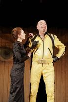 'TWELFTH NIGHT' (Shakespeare - director: Michael Boyd) ~Aislin McGuckin (Olivia), Richard Cordery (Malvolio) ~Royal Shakespeare Company (RSC), Royal Shakespeare Theatre, Stratford-upon-Avon  28/04/200...