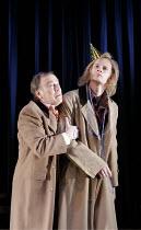 'TWELFTH NIGHT' (Shakespeare - director: Michael Boyd),II/iii - l-r: Nicky Henson (Sir Toby Belch), John Mackay (Sir Andrew Aguecheek) ~Royal Shakespeare Company (RSC), Royal Shakespeare Theatre, Stra...