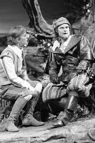 'TWELFTH NIGHT' (Shakespeare - director: John Caird),l-r: Nigel Cooke (Sebastian), Christopher Neame (Antonio),Royal Shakespeare Company / Royal Shakespeare Theatre   Stratford-upon-Avon   04/1983...