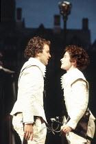 'TWELFTH NIGHT' (Shakespeare - director: Ian Judge),Robert Bowman (Sebastian), Emma Fielding (Viola),Royal Shakespeare Company / Royal Shakespeare Theatre     Stratford-upon-Avon            25/05/1994...