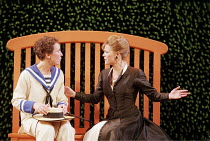 'TWELFTH NIGHT' (Shakespeare - director: Adrian Noble),l-r: Helen Schlesinger (Viola/Cesario), Clare Holman (Olivia),Royal Shakespeare Company / Royal Shakespeare Theatre   Stratford-upon-Avon     25/...
