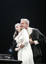 MEASURE FOR MEASURE   by Shakespeare   director: Peter Hall,sc.8 - Andrea Riseborough (Isabella), Richard Dormer (Angelo),Peter Hall Season / Theatre Royal Bath, England           12/07/2006,